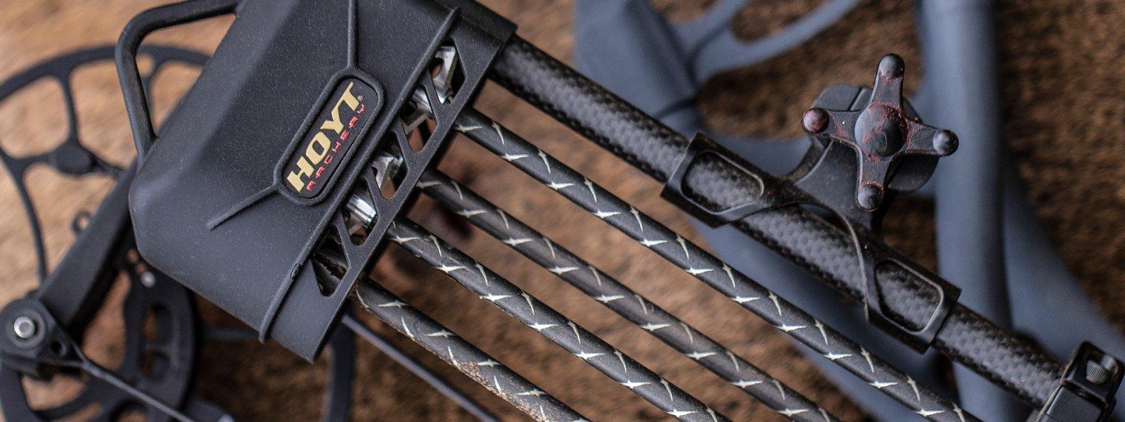 Optifade Subalpine NEW Hoyt Carbon Solo Shorty 4 Arrow Quick Detach Bow Quiver